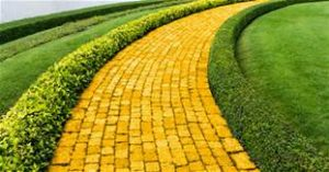Yellow Brick Road to Emerald City
